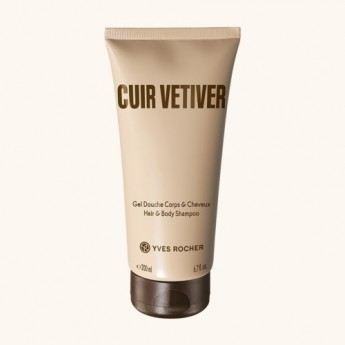 CUIR VETIVER Душ гел 200мл