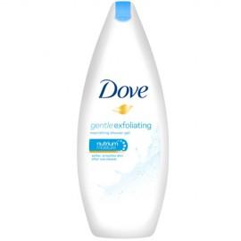 Dove Душ гел Gentle Exfoliating Подхранващ и ексфолиращ душ гел за тяло 250 мл